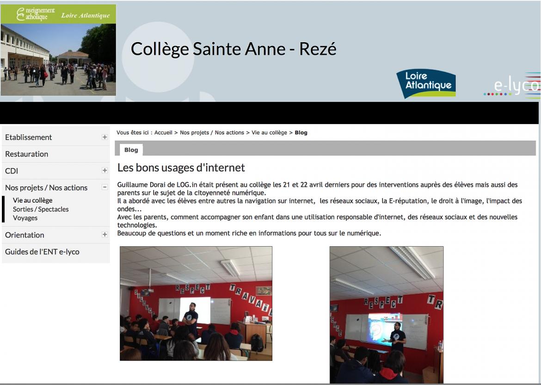 collège Sainte Anne
